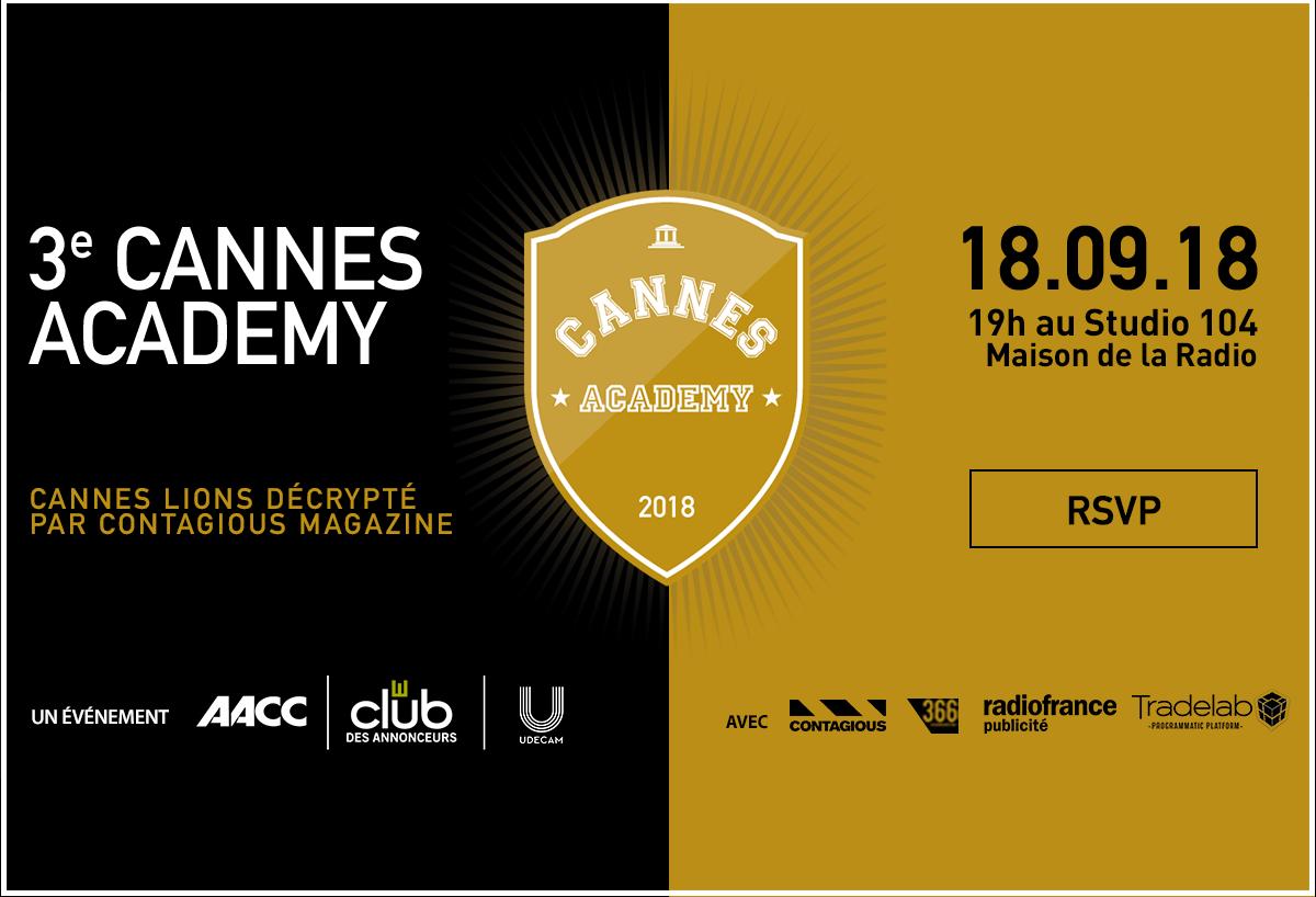 3e édition Cannes Academy